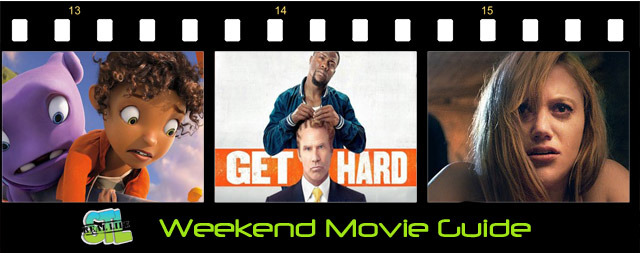 Weekend Movie Guide: Get Hard, Home, It Follows