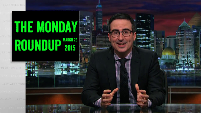 Monday Roundup: John Oliver on Municipal Violations