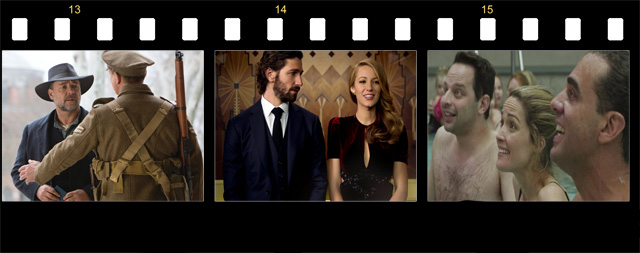 Age of Adaline, Little Boy, The Water Diviner, Adult Beginners