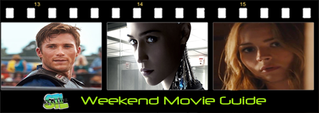 The Longest Ride and Ex Machina  open this weekend