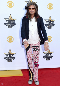 Steven Tyler at the 2015 Academy of Country Music Awards