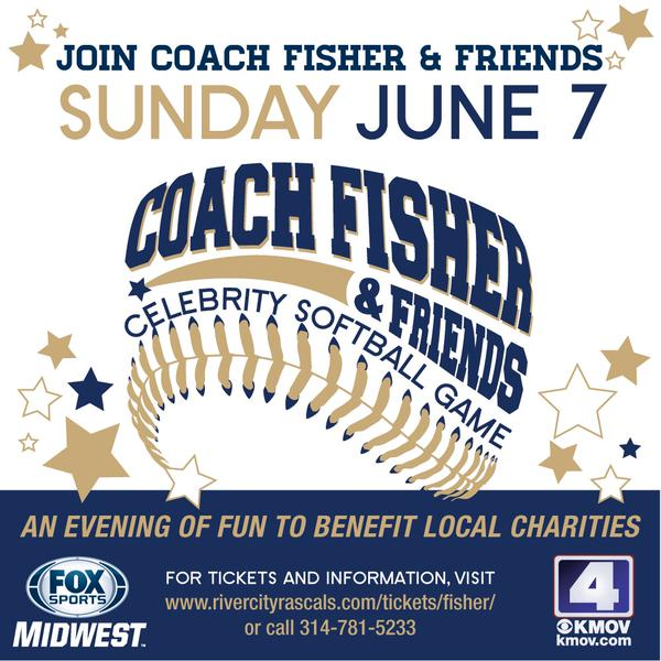 2015 Coach Fisher & Friends Celebrity Softball Game Set For June 7