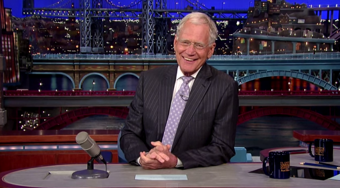 David Letterman Says Goodbye