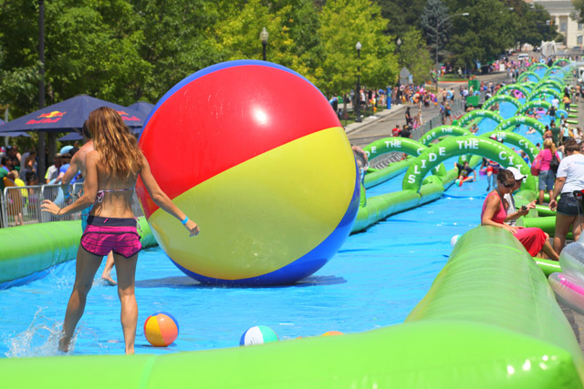Slide The City coming to St. Louis July 11-12, 2015
