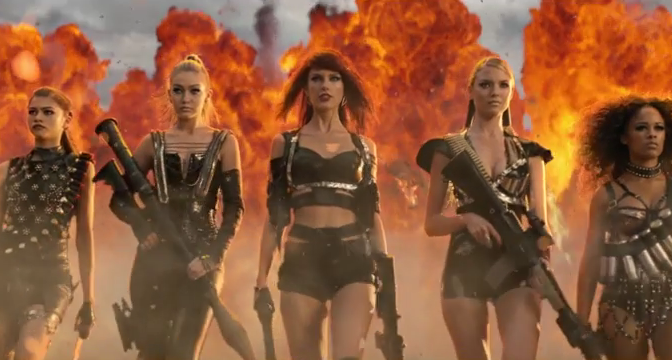Taylor Swift Releases Bad Blood Music Video