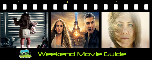 Tomorrowland and Poltergeist open in movie theaters this weekend.