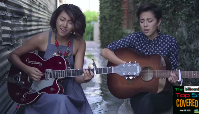 "Kina Grannis and Clara C cover Taylor Swift's ""Bad Blood"""