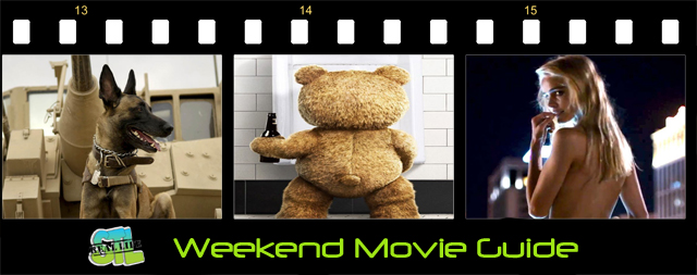 Ted 2 and Max open this weekend.