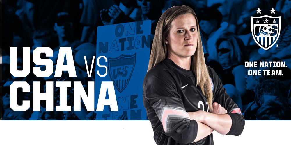 The USWNT faces China tonight in the quarterfinals for the 2015 Women's World Cup