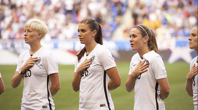 USWNT vs Colombia Tonight In Knockout Stage of Women's World Cup
