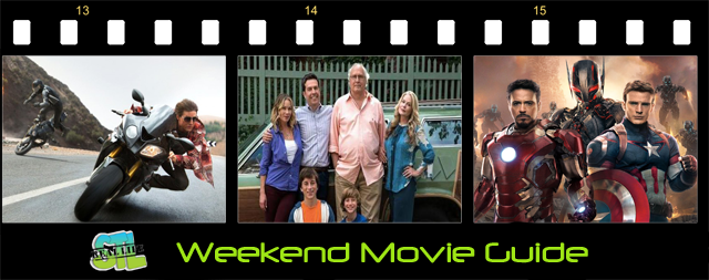 Mission: Impossible - Rouge Nation and Vacation are in theaters this weekend.