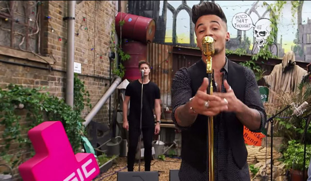 "Aston Merrygold covers ""Bad Blood"" by Taylor Swift"