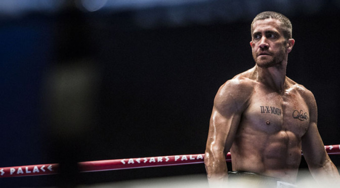 Jake Gyllenhaal in Southpaw.