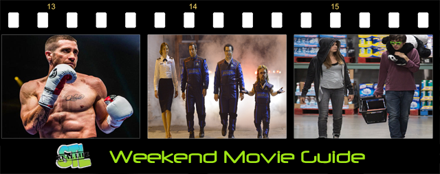 Southpawm Pixels, Paper Towns and The Vatican Tapes open in movie theaters this weekend.