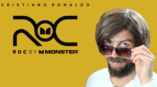 Cristiano Ronaldo for ROC by Mosnter headphones