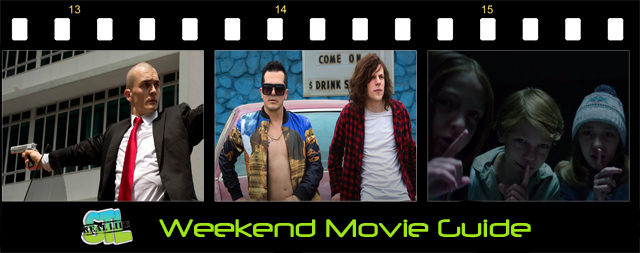American Ultra, Hitman: Agent 47 and Sinister 2 open in movie theaters around St. Louis this weekend.