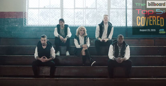 """Pentatonix covers """"Cheerleader"""" by OMI in this week's edition of The Billboard Top 5: Covered"""