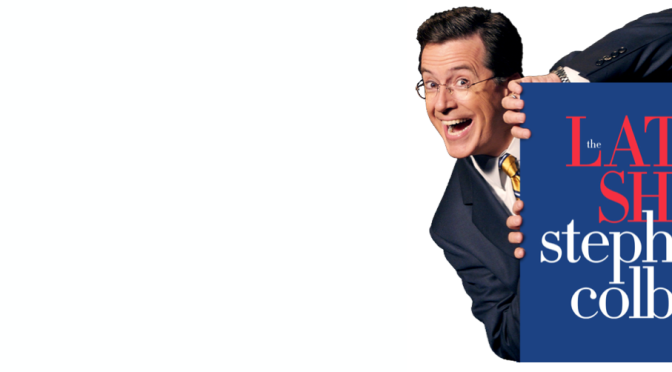 "Stephen Colbert Debuts On The ""Late Show"""