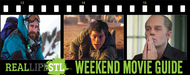 weekend Movie Guide: Maze Runner: Scorch Trials, Black Mass, Everest
