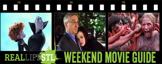 The Intern, Hotel Transsylvania 2 and The Green Inferno arrive in movie theaters around St. Louis this weekend.