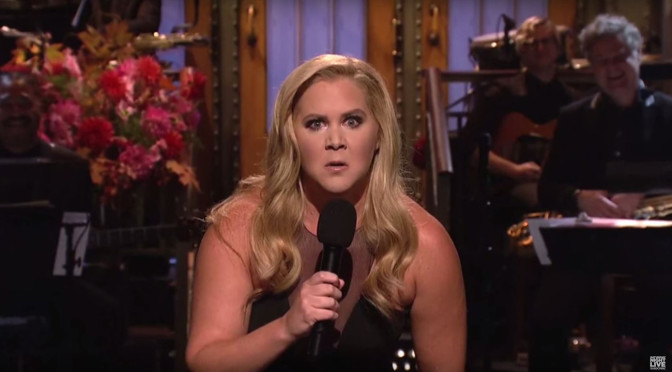 Amy Schumer Hosts Saturday Night Live
