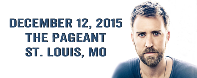 Charles Kelley coming to St. Louis.