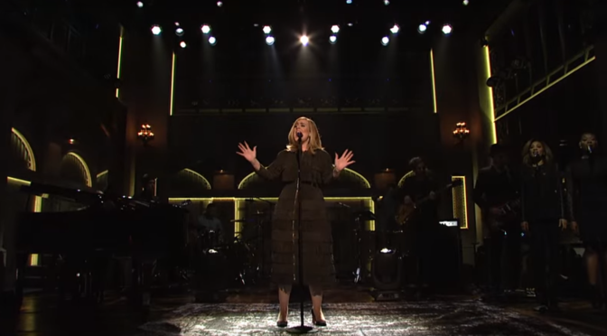 Monday Roundup: Adele on SNL, AMAs