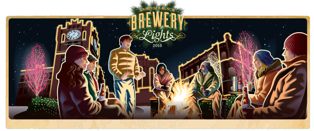 Brewery Lights at Anheuser-Busch opens November 19, 2015