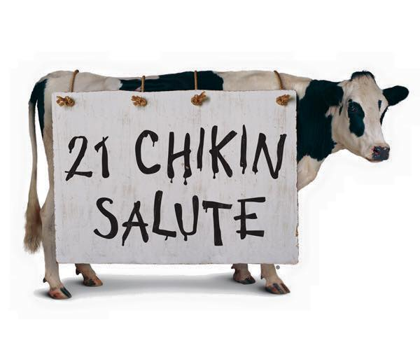 """God Bless The U.S.A"" at Chick-fil-A"