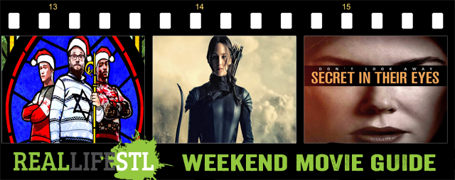 The Hunger Games: Mockingjay - Part 2, The Night Before and Secret in Their Eyes all open in movie theaters around St. Louis this weekend.