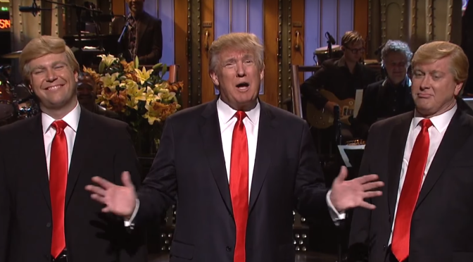 Trump Hosts SNL While POTUS Joins Facebook