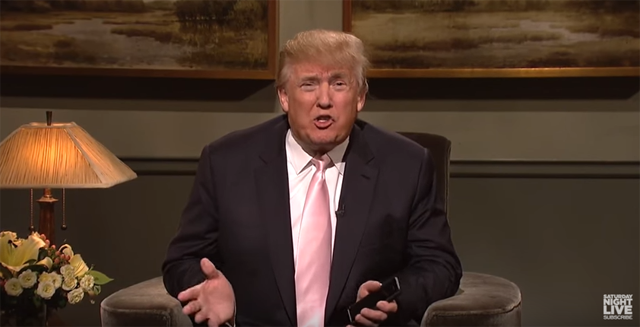 Donald Trump hosting Saturday Night Live