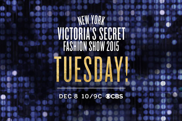 The 2015 Victoria's Secret Fashion Show airs December 8, 2015 on CBS.