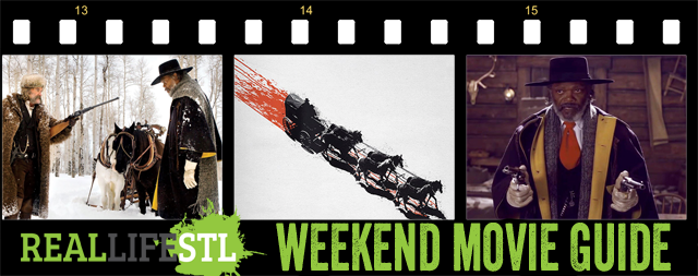 The Hateful Eight opens in movie theaters around St. Louis this weekend.