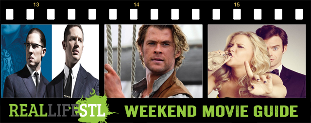 In The Heart of the Sea and Legend open in movie theaters around St. Louis this weekend.