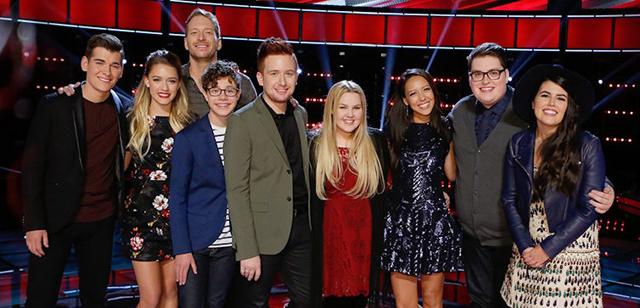 The Voice Season 9 semifinalists.