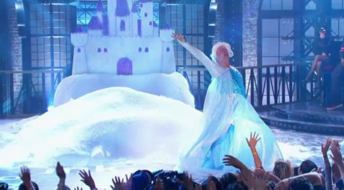 "Channing Tatum performing ""Let It Go"" from Frozen"