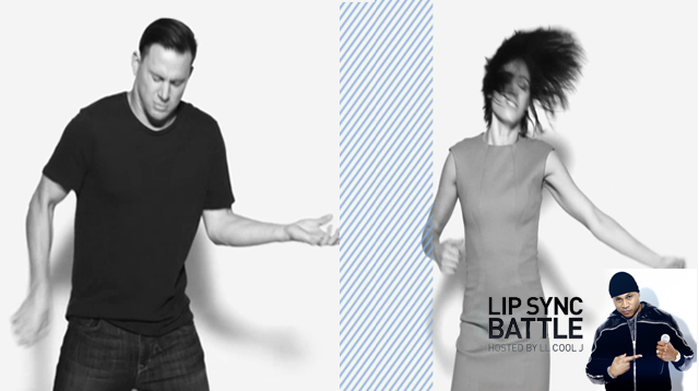 Channing Tatum vs. Jenna Dewan-Tatum on Lip Sync Battle