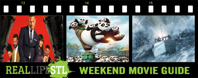 Fifty Shades of Black, Kung Fu Panda, Jane Got A Gun and The Finest Hours open in movie theaters this weekend.