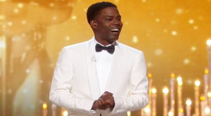 Chris Rock Rocks Oscars