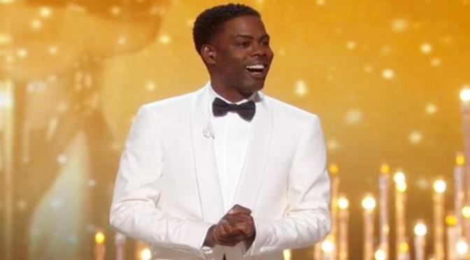 Chris Rock rocks as Oscars host