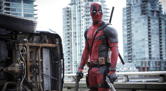 Deadpool opens in movie theaters this weekend.