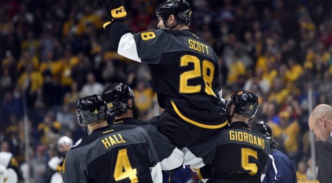 John Scott Named NHL All-Star Game MVP