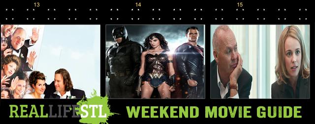 Batman v Superman and My Big Fat Greek Wedding 2 open this weekend.