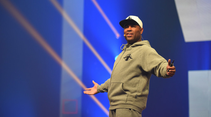 Dr. Eric Thomas Speaks At Vashon High School In St. Louis