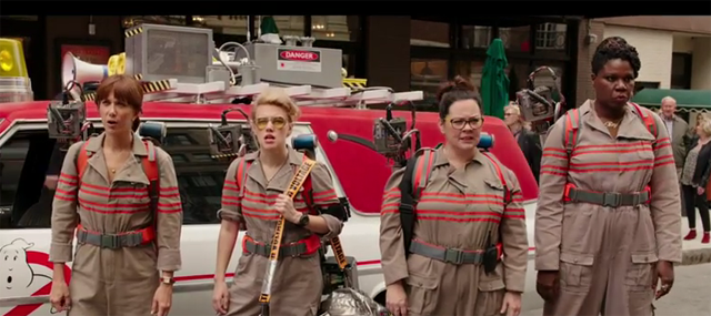 The new Ghosbusters reboot cast
