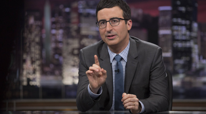 John Oliver on Donald Trump's Planned Wall
