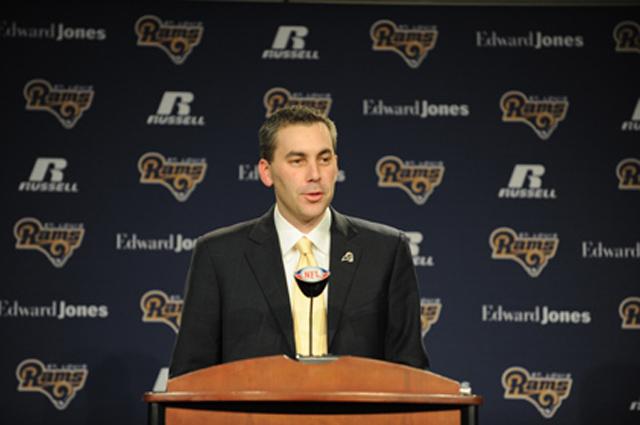 Kevin Demoff of the LA Rams
