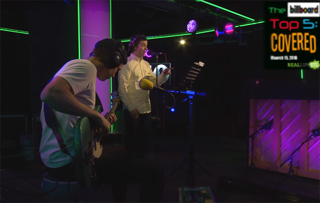 Lukas Graham in the BBC Radio 1 Live Lounge