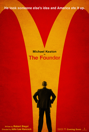 McDonald's move The Founder poster